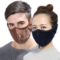 Wholesale winter earmuffs men resale online - New Autumn Winter Thickening All inclusive Men Women Warm Cold proof in Earmuffs Mask Anti Dust Anti fog Windproof Earmuff