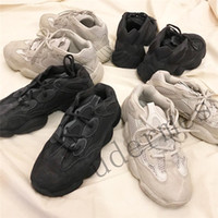 Wholesale new shoes mouse for sale - 2019 New Kanye West Descrt desert mouse super moon yellow running shoes practical black men woman sneakers outdoor sports shoes