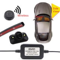 mini araç kameraları toptan satış-Araç Sağ Kör Nokta Sistemi Kamera Araba Dikiz Kamera Park Sistemi Mini Iki Video Otomatik Anahtarı Kontrol Kutusu