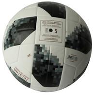 fußball-premier league groihandel-Designer-The World Cup Fußball hoher Qualität Premier PU Fußball Offizieller Fußball Fußball Liga Meister Sport Training Ball 2018