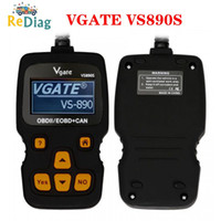 Wholesale Vgate VS890S OBD2 Diagnostic Scanner VS890 Vgate SCAN Tool VS CAN BUS Multi Languages Car Code Reader