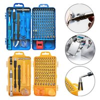 Wholesale electronics repair kit for sale - Group buy 115In1 Precision Screwdriver Set Multifunction Screwdriver Kit Electronics Repair Tools For Cell Phone Disassemble Watch Glasses
