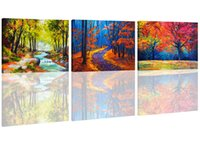 Wholesale contemporary frames canvas prints resale online - Color Maple Wall Paintings Canvas Wall Art Contemporary Artwork for Home Decorations for Living Room Panel Canvas Picture