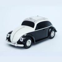 işık böcekleri toptan satış-WS-1985BT Beetle Vintage Car hoparlör Ses Kablosuz Bluetooth Araç Ses Retro Vintage Araba Renkli Işık TF Kart subwoofer Hoparlörler FM Ses