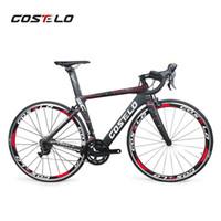 ingrosso vendita di biciclette in carbonio-VENDITA CALDA! Full carbon costelo lucca bici da strada bici in carbonio FAI DA TE completa bici da strada completa bicicletta bicicleta completa2019 Costelo Speedc