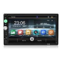 mp5 hd oynatıcı toptan satış-7033B Araba Stereo Radyo 2 DIN MP5 Çalar mirrorlink Android 2din araba radyo 7