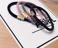 ingrosso corda luminosa-Vendita calda! 4 colori 2 stili scintilla capelli anello luminoso linea di stampa corda dei capelli gioielli cavallo coda cravatta elastico durevole robusto capelli elastici