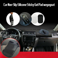 Wholesale waterproof phone holder for sale – best Hot Sale Car Non slip Silicone Sticky Gel Pad Round Silicone Waterproof Anti skid Pad Phone Holder Magic Dashboard Mat