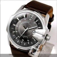 melhor relógio esportivo venda por atacado-Best-seller moda homens diesels relógios dz relógios montre homme homens relógios de quartzo militar dos homens relógio esportivo relógio presente relogio masculino