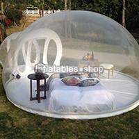 ingrosso tende gonfiabili campeggio familiare-Tenda gonfiabile della bolla dell'albero, casa gonfiabile di spettacolo Tenda di campeggio del cortile della famiglia, 0,45mm pvc carpas de camping 4 personas camera