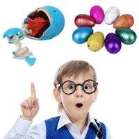 sihirli kuluçka yumurtası toptan satış-Çocuklar Eğitici Oyuncaklar Hediyeler Funny için 10pcs / çok Yenilik Gag Oyuncaklar Çocuk Oyuncakları Sevimli Sihirli Kuluçka Büyüyen Hayvan Dinozor Yumurta