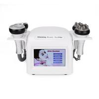 ingrosso macchina di cavitazione ad ultrasuoni di grasso-Macchina per la cellulite ad ultrasuoni per la riduzione del grasso corporeo Body Shaping Face Lift con liposuzione Cavitazione ultrasonica Tripolar RF Strong Vacuum