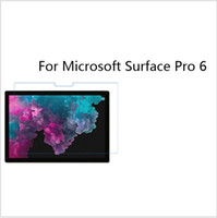 Wholesale microsoft film online – 50pcs Transparent Lcd Screen Protector Film for Microsoft Surface Pro with Paper Box