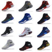 Wholesale bouncing shoes pink resale online - 2019 pro bounce higt Donovan Mitchell basketball shoes shoes men sports original designer size