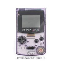 Wholesale 2.7 inch handheld game resale online - GB Boy Game Classic Color Colour Games Built in Pocket Video Retro Portable Handheld Game Players Console