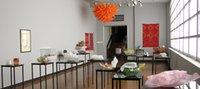 luminárias pingente laranja venda por atacado-Laranja Pingente Lâmpada para Sala de estar Decoração AC 120V 240V 100% Mão Blown Vidro Arte Candelabro Luminárias