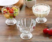 einfrieren glas großhandel-Neue Bar Party Drink Eiswürfelform Eiswürfel Einfrieren Mold Eismaschine Mold Bleifrei Transparenz Glas Tasse für Saft Dessert Salat