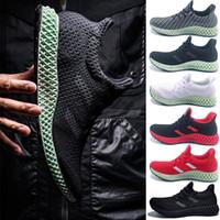 4ebcd09cbe1d Fashion Men Futurecraft Alphaedge 4D LTD Woman Aero Ash Green Race Runners  Core Black Running Shoes Man Authentic Sneakers Designer Shoes