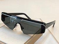 yeni stil lensler toptan satış-0003 Yeni sıcak satış gözlük için çerçevesiz büyüleyici kedi göz güneş gözlüğü kadın eğilim avant-garde stil uv400 lens en kaliteli gözlük