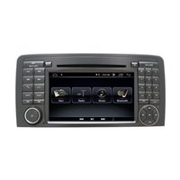 Wholesale hindi video mp4 resale online - 7 inch din Car DVD Multimedia Player For Mercedes Benz ML Class W164 GL Class X164 GPS navigation Radio DSP Stereo