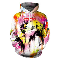 2f0ee9a812d3 New Fashion Women Men Marilyn Monroe With Hand Masked Art Funny 3D Printed  Casual Long Sleeve Autumn Winter Hoodies Sweatshirt K162