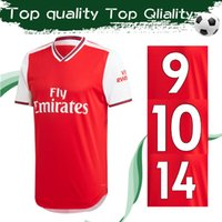 tops für clubbing großhandel-2020 Gunners Football Club Heimtrikot Rot 19 20 Highbury Football Trikot 2019 Hochwertige Henry Football Uniform Größe S-2XL