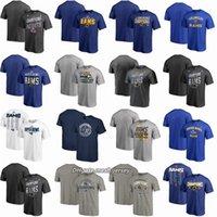 super bol femmes achat en gros de-Hommes Femmes Jeunesse Los Angeles Rams Pro Line de Branded Super Bowl LIII Super Bowl LIII Champions Reliés Flank T-shirt
