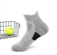 ingrosso asciugamano usa-2019 USA nuovo elastico alto elastico calzini elite basket calcio calcio sport metà polpaccio equipaggio calzino spugna kd calzini per gli uomini # 109