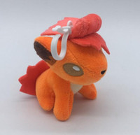 Wholesale figure wallet resale online - 4 inch Cute Stuffed Animals Vulpix Doll for Kid s Anime Collectible Toy Figures Pendant Charm Plush Backpacks Gifts Soft Stuffed Toys