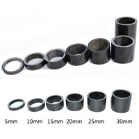 9pcs Cycling Carbon Fiber Washer Spacer Bike Spacers Washer Headset Washer
