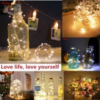 Wholesale string lighting for bedrooms for sale - Group buy 1 M M M M Led Strings Christmas Wedding Party Decoration LED String Fairy Lights For Bedroom DIY Decoration Z