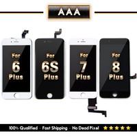 pantalla táctil de 5,5 pulgadas al por mayor-Para 5.5 pulgadas iPhone 6+ 6S + 7+ 8+ Reemplazo LCD con pantalla táctil digitalizador Envío Gratis