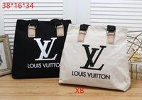 saco de lona venda por atacado-2019 NEW HOT saco de lona designer de moda feminina sacos de sacos de jet set viagem senhora PU bolsas de couro bolsa ombro tote feminino terno de três peças