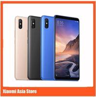mobile großhandel-Xiaomi Mi Max 3 6 GB 128 GB Handy 6,9 Zoll Vollbild Snapdragon 636 Octa Core AI Dual Kamera 5500 mAh Android 8.1