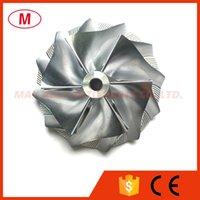 ingrosso girante del compressore del turbocompressore-TD04HL 47.10 / 63.40mm 6 + 6 pale Reverse Turbo billet Compressor wheel / Alluminio 2618 / Turbo Fresa compressore per turbocompressore CHRA
