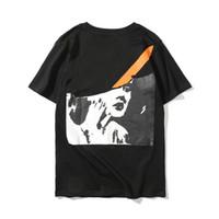 Wholesale womens xxl t shirts for sale – custom New Marilyn Monroe Designer T Shirts Hip Hop Mens Designer T Shirts Fashion Brand Mens Womens Short Sleeve M XXL