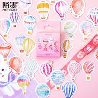 Wholesale stationery labels for sale - Group buy 46 box Kawaii Confession Balloon Paper Decoration Stationery Sticker DIY Diary Planner Label Journal Stickers Student Supply