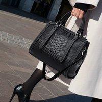 ingrosso valigetta di coccodrillo per le donne-Nuova borsa tracolla messenger pacchetto sera borse modello borse in pelle da donna coccodrillo signore femminile valigetta