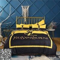 ingrosso seta seta in seta-di lusso biancheria da letto jacquard set copertura trapunte set regina king size macchia set di cotone di seta pizzo piumino lenzuolo tessili per la casa 111-112