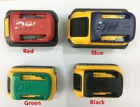 prateleira de pc venda por atacado-Suporte para bateria Dewalt Suporte para rack Prateleira de 18V a 60V (4 peças por lote)
