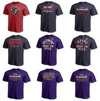 prise de ligne achat en gros de-Baltimore Houston Hommes Texans Ravens Pro Line de Fanatics Marque 2019 Division Nord Champions Big Tall Fair Catch T-shirt
