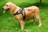 Wholesale big nylon dog collar for sale - Group buy Adjustable Nylon No Pull Dog Harness Vest For Big Dog Harness Large Dog Leash XL Medium Pet Supplies Vest Pet Collar Accessories
