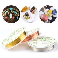 Wholesale copper wire line online – Nail Art Decorations Copper Wire Handmade Supplies Line Manicure DIY Design Metal Gold