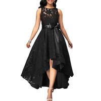 Venta al por mayor de Vestidos De Negro De Color Burdeos