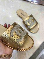 золотые имена оптовых-Бренд Big Name товары стиль Женская обувь сандалии тапочки Toe галстук Золотые Звезды натуральная кожа низкий каблук