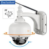 Wholesale infrared alarms resale online - Fealushon Waterproof Outdoor IP Camera P2P Wireless Wifi Camera Security Dome CCTV Surveillance Onvif Nas Smart Alarm