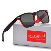 spor gözlük kılıfı toptan satış-Marka Tasarımcı Moda Erkekler ve Kadınlar Güneş UV400 Koruma Spor Vintage Güneş ücretsiz kutu ve vaka ile Retro Gözlük gözlük