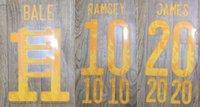 2020 Welsh BALE RAMSEY JAMES nameset patch badge