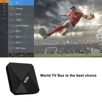 Wholesale iptv box arabic channels for sale - Android IPTV TV BOX Channels S905W G G North America Europe Asian Arabic South America IP TV