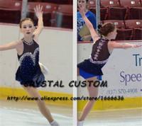 eislauf-marken groihandel-Erwachsene Eiskunstlauf-Kleid der neuen Marken-Eislauf-Kleid nach Maß für Wettbewerb DR4876